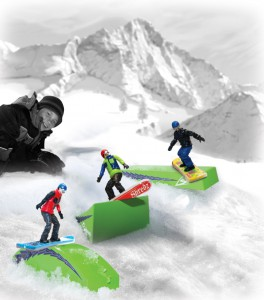 Shredz Snowboarding Action Figures