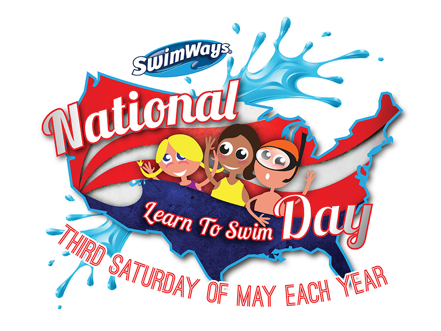 National Learn to Swim Day Logo - No Date