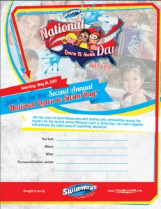 National Learn to Swim Day Event Poster