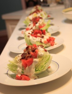 Good Clean Fun Wedge salad