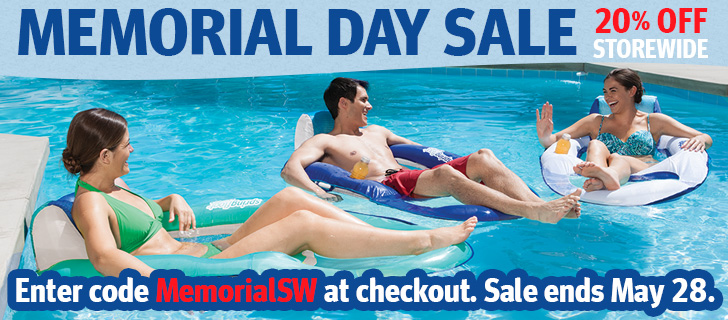 SwimWays Memorial Day Sale