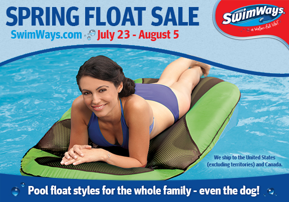 SwimWays.com Spring Float sale