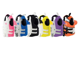 Sea Squirts PFD comes in many colors