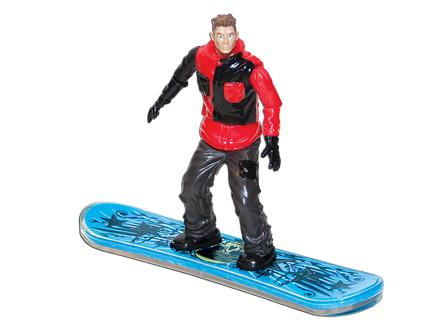 Shredz Snowboarding Action Figure