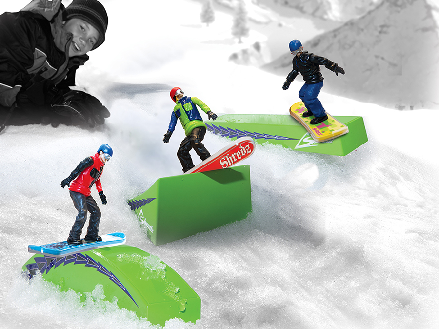 snowboard action figure accessories