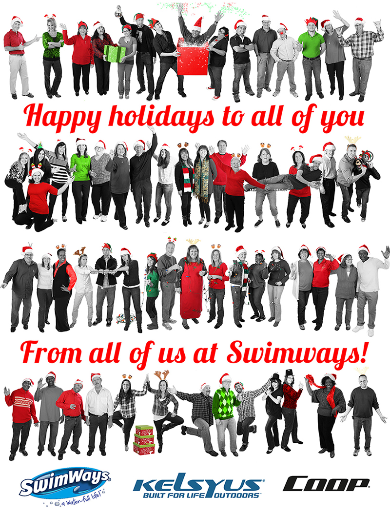 Happy Holidays from Swimways Corp!