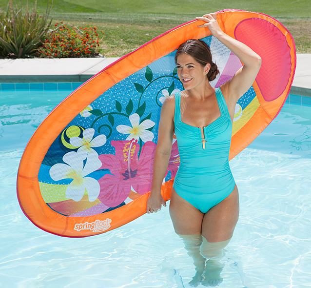SwimWays Spring Float Graphic Prints