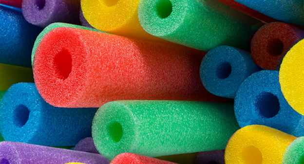 pool noodle decorating