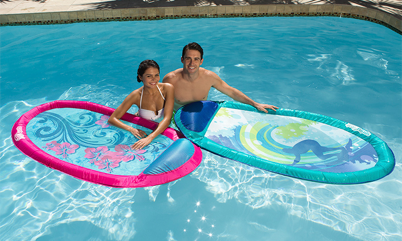 Learn how to fold a SwimWays Spring Float