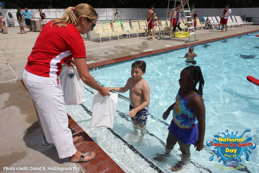 National Learn to Swim Day in 2012