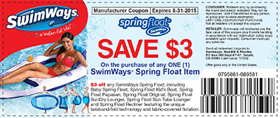2015 Spring Float Coupon