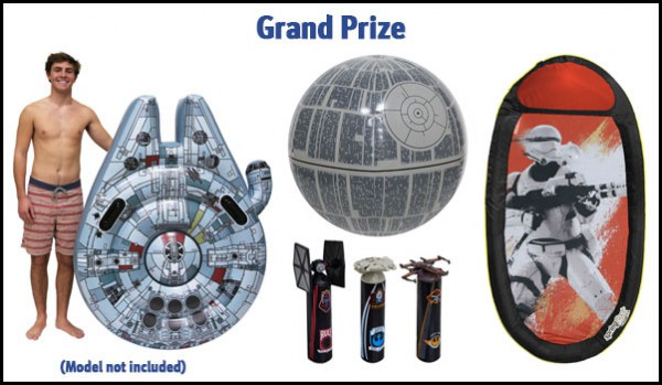 Star Wars Trivia Contest Grand Prize