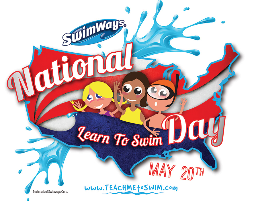 2017 National Learn to Swim Day Logo