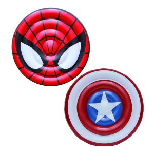 Marvel Oversized Inflatable Shield Pool Floats