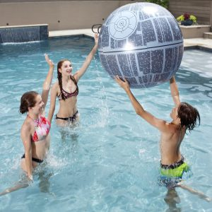 Star Wars Death Star XXL Light-Up Beach Ball pool toy