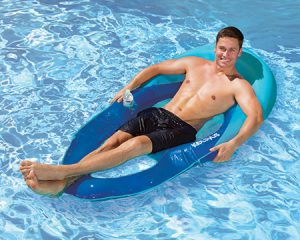 Kelsyus Floating Chaise Lounger