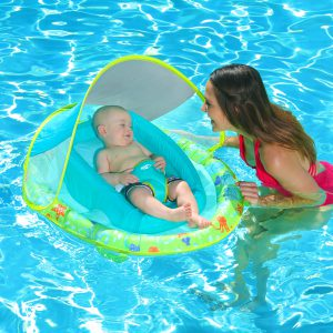SwimWays Baby Spring Float Sun Canopy for Infants