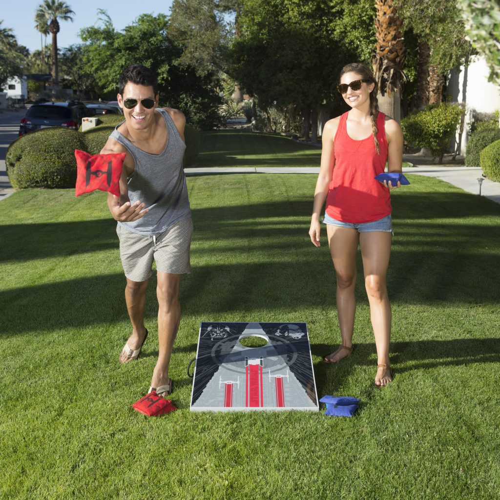 Kelsyus Star Wars Bean Bag Toss Backyard Game