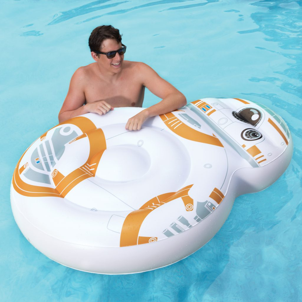 SwimWays Star Wars Oversized Inflatable BB-8 Pool Float