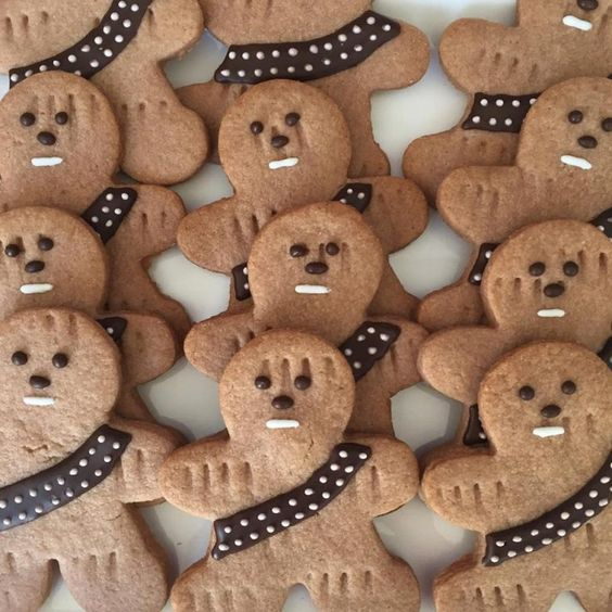 Star Wars Pool Party Snack- Wookie Cookies