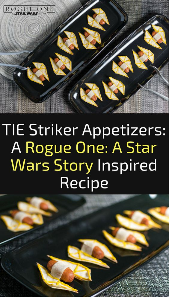Star Wars TIE Striker Mini Hot Dogs