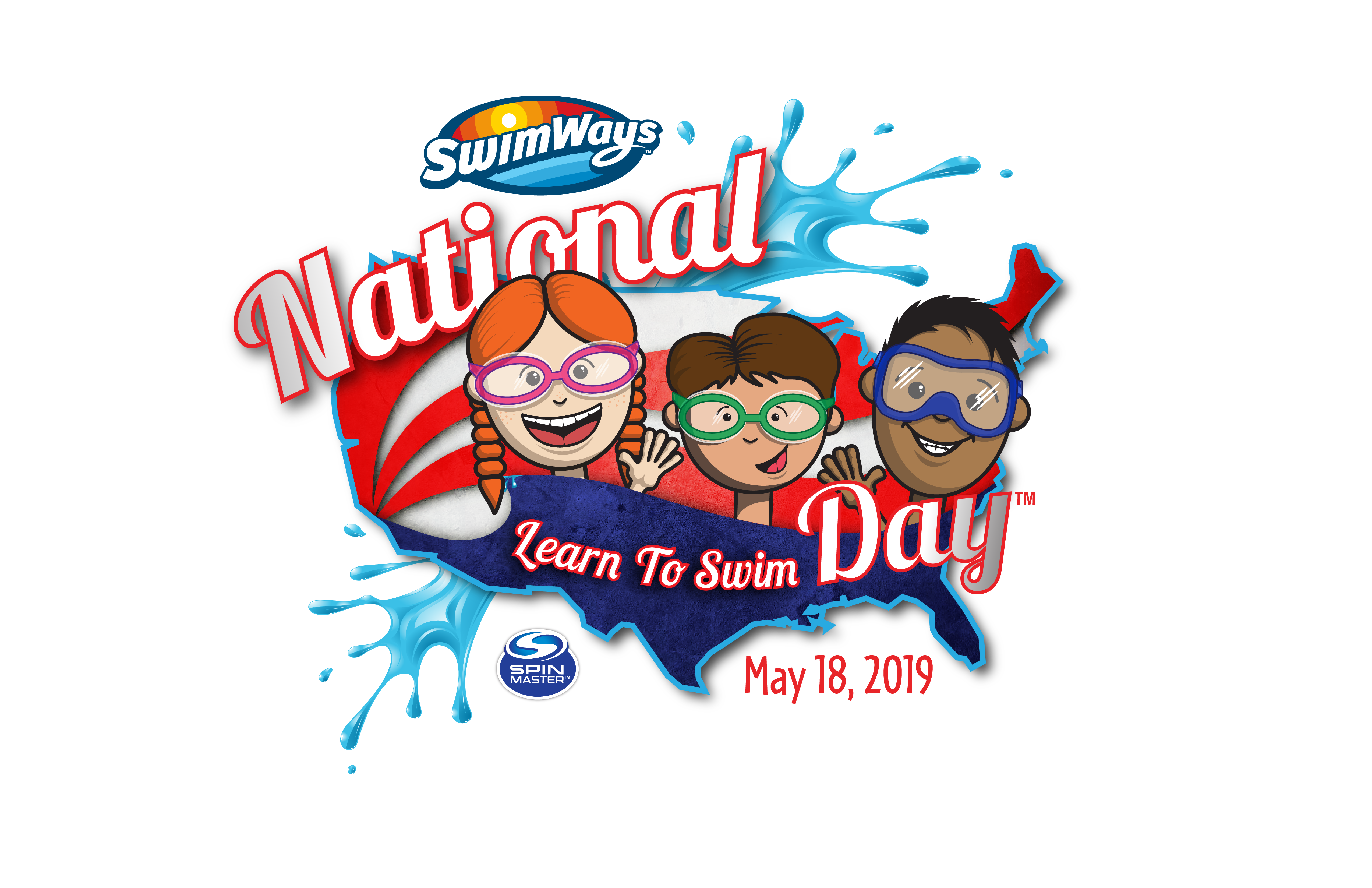 2019 National Learn to Swim Day Logo