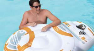 Oversized BB8 Inflatable Pool Float