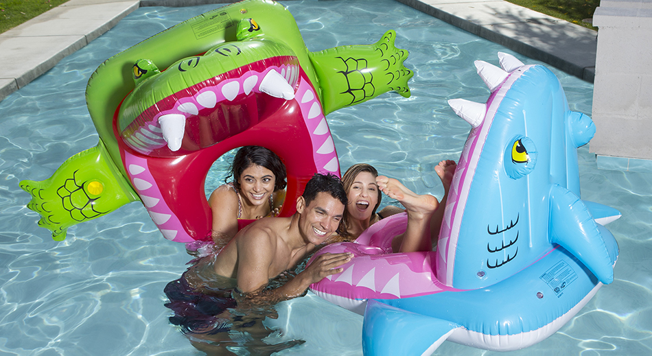 2019 Father's Day Gift Guide- Eaten Alive Inflatable Pool Float