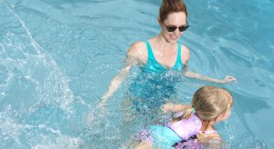 Power Swimr swim steps learn to swim swimming aid