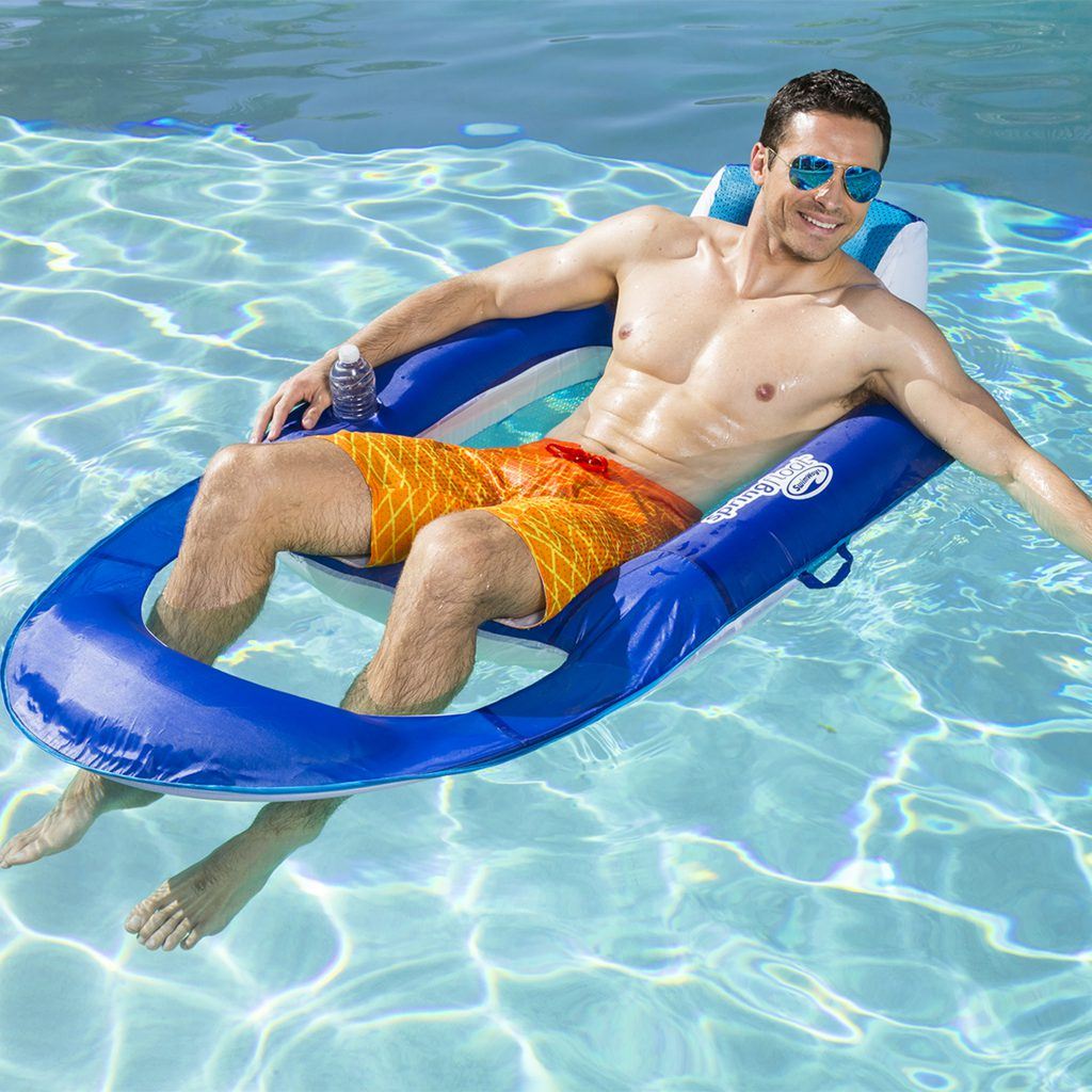 2019 Father's Day Gift Guide- SwimWays Spring Float Recliner