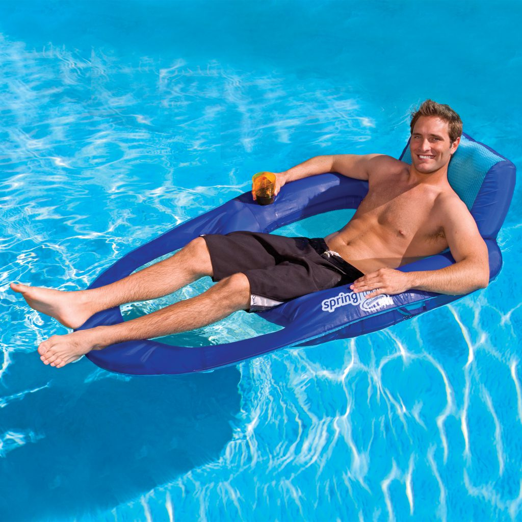 2019 Father's Day Gift Guide- SwimWays Spring Float Recliner XL