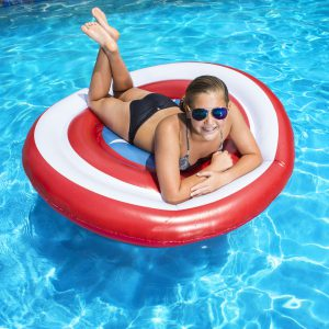 SwimWays Oversized Inflatable Shield Float