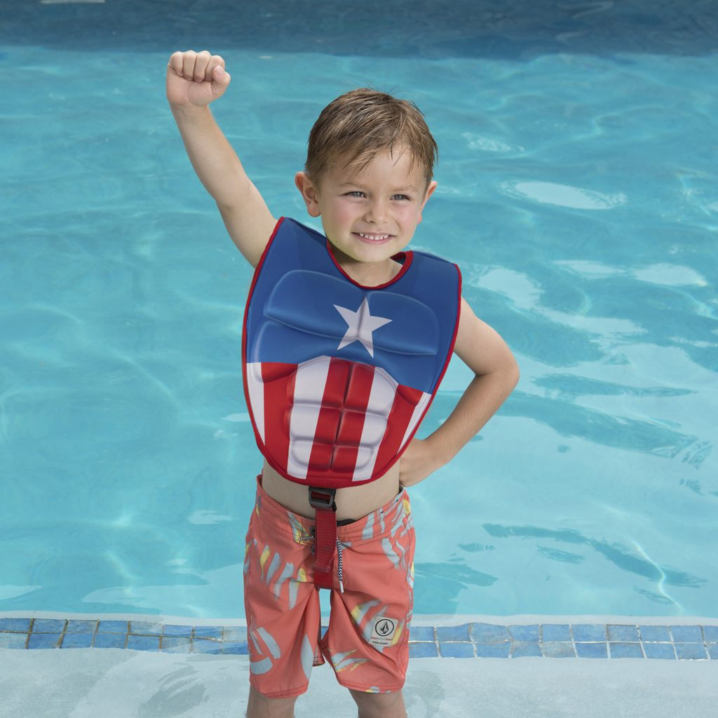 Marvel 3-D Swim Vest