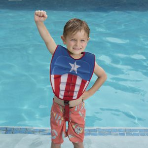 SwimWays Marvel 3-D Swim Vest