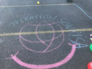 Sidewalk Chalk- Operation Smile