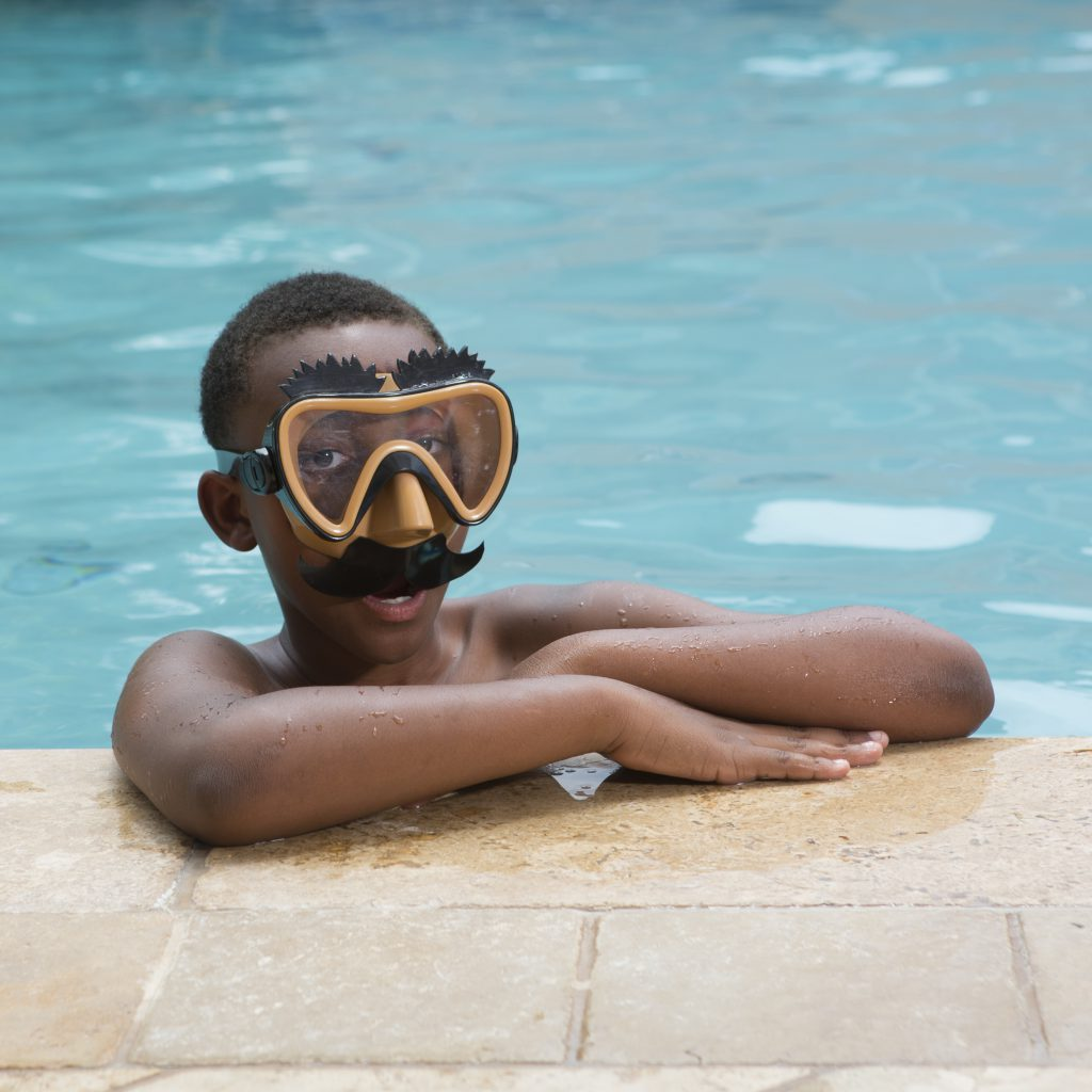 Funny Face Swim Mask- Mustache
