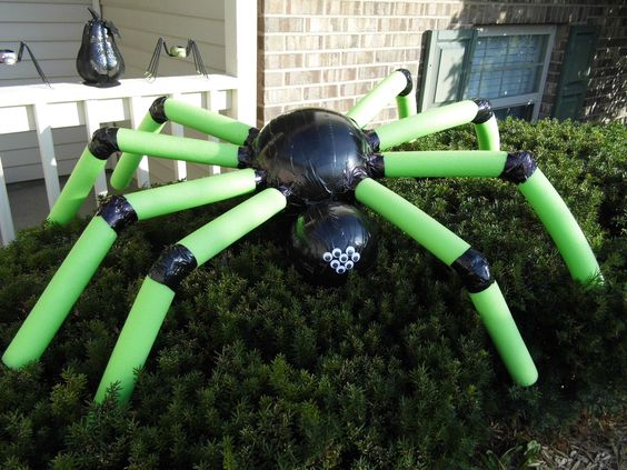 Pool Noodle Craft- Spider