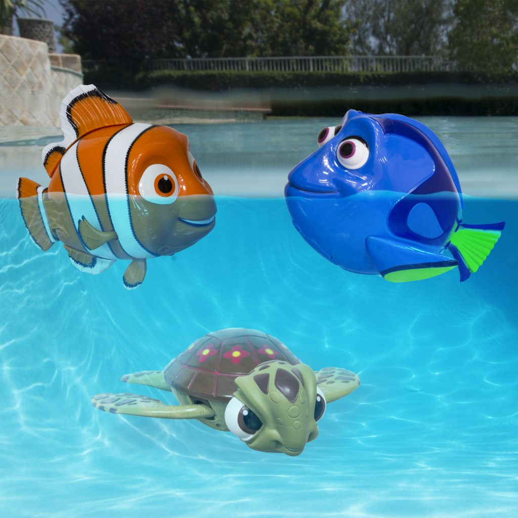 Disney Swimming Nemo, Squirt, Dory