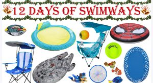 12 Days of Swimways Christmas promo