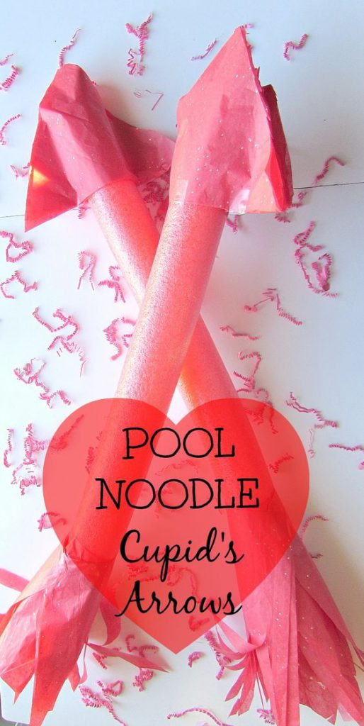 Pool Noodle Cupid Arrows