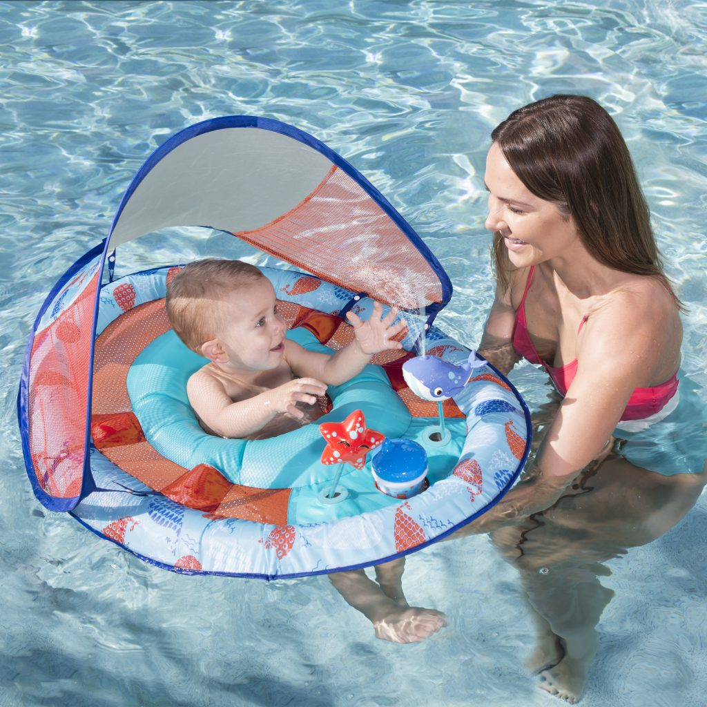 Swimways Baby Spring Float Splash Station