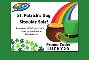 Swimways St. Patrick's Day Sale