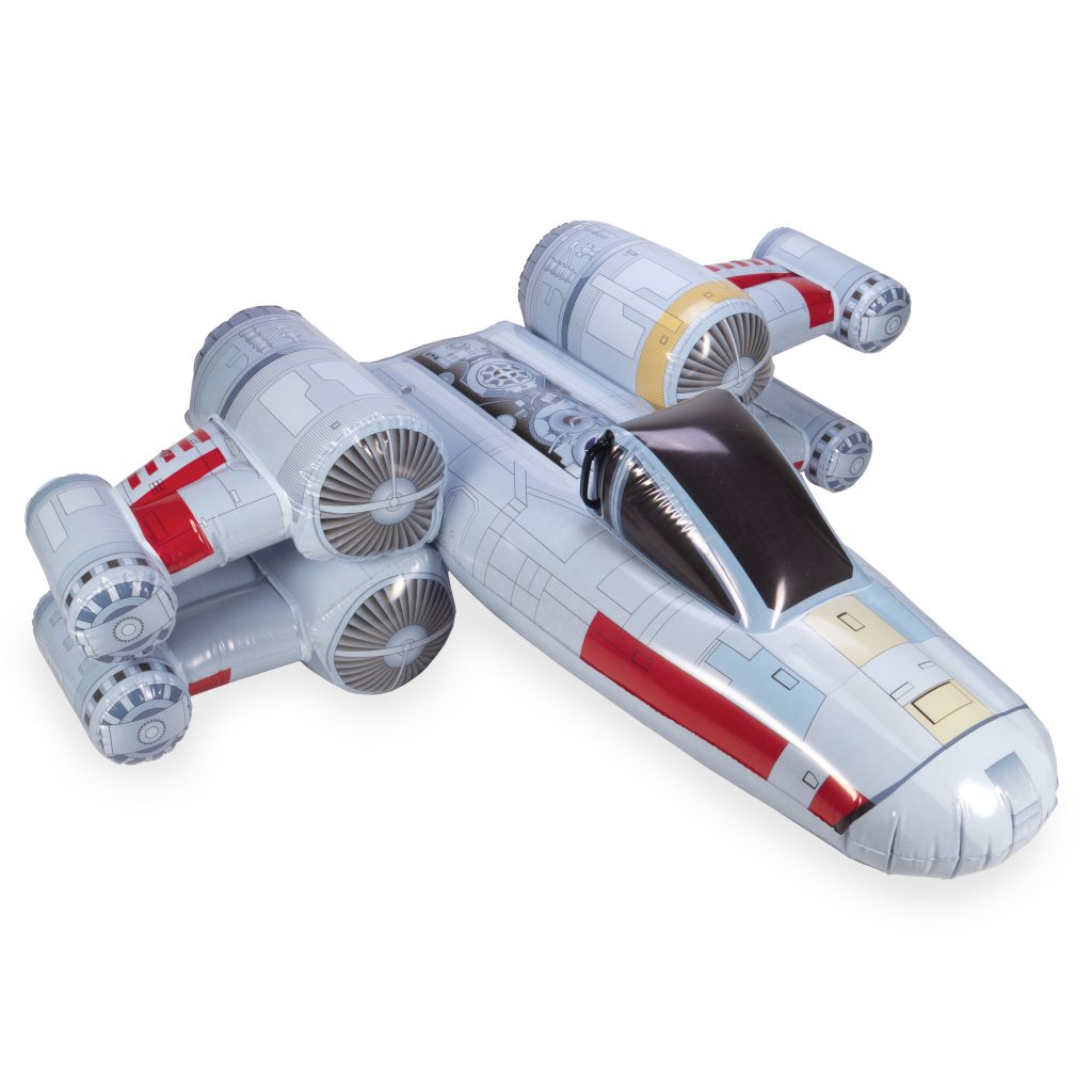 2019 Father's Day Gift Guide- SwimWays Star Wars X-Wing Fighter Inflatable Ride-On Pool Float